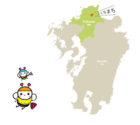 ふくちまちの地図
